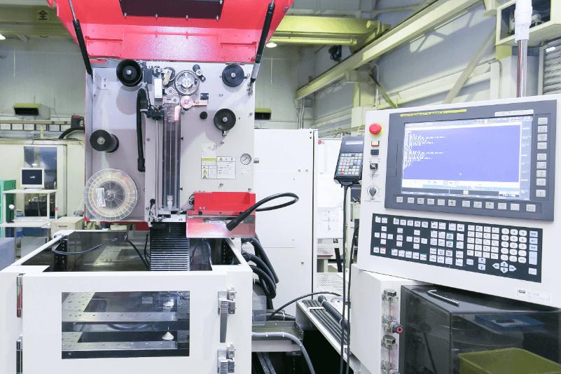 ワイヤカット放電加工機